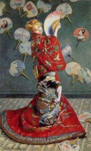 kimono Claude Monet