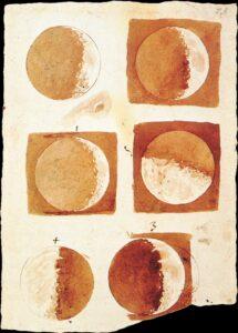Galileu Galilei fases da lua