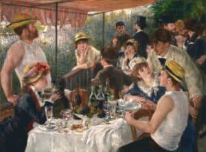 Pierre-Auguste Renoir, Luncheon of the Boating Party, 1881, The Phillips Collection, Washington, DC.