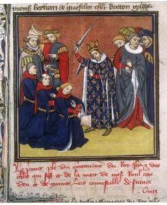 feudalismo Grandes chroniques de France, Paris Bibliothèque Nationale de France