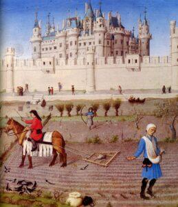 feudalismo Iluminura em Les très riches heures du duc de Berry
