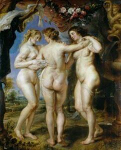 Peter Paul Rubens, The Three Graces, 1630-5, Museo del Prado.