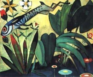 O salto de coelho 1911 Amadeo de Souza Cardoso