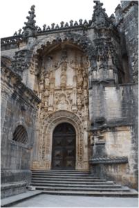 Convento de Cristo portal sul