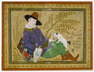 Reza Abbasi animal estimação