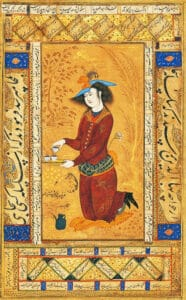 Reza Abbasi chá