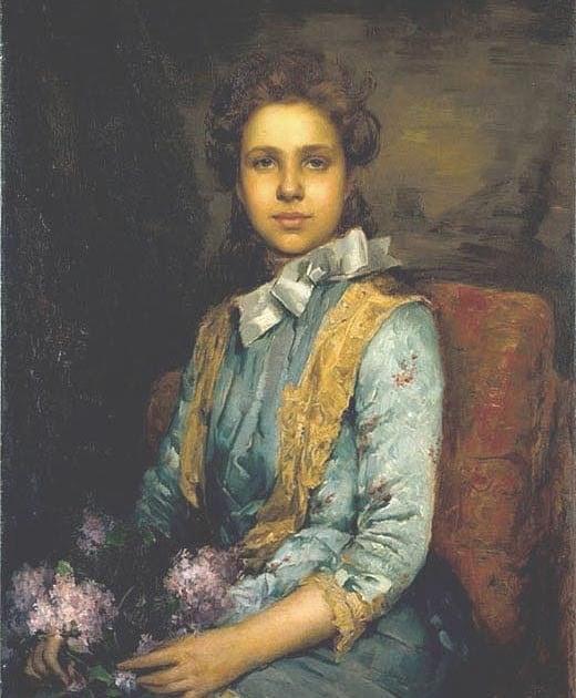 Retrato da Menina Laura Sauvinet (1888) José Malhoa