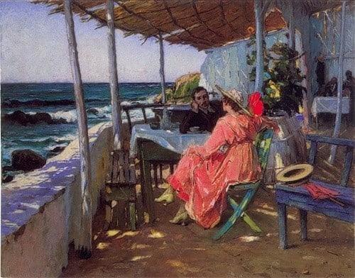 À Beira-Mar - Praia das Maçãs (1926)