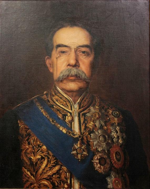 José Malhoa Retrato de José Luciano de Castro (1899)