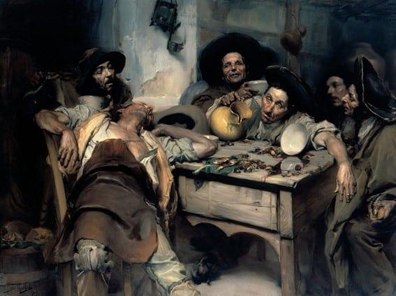Os bêbados ou festejando o São Martinho (1907)