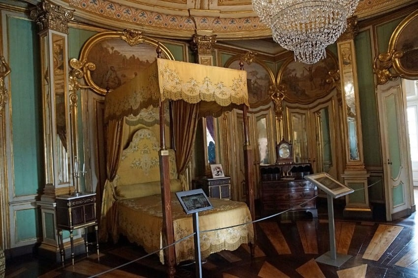 Palácio de Queluz quarto D. Quixote