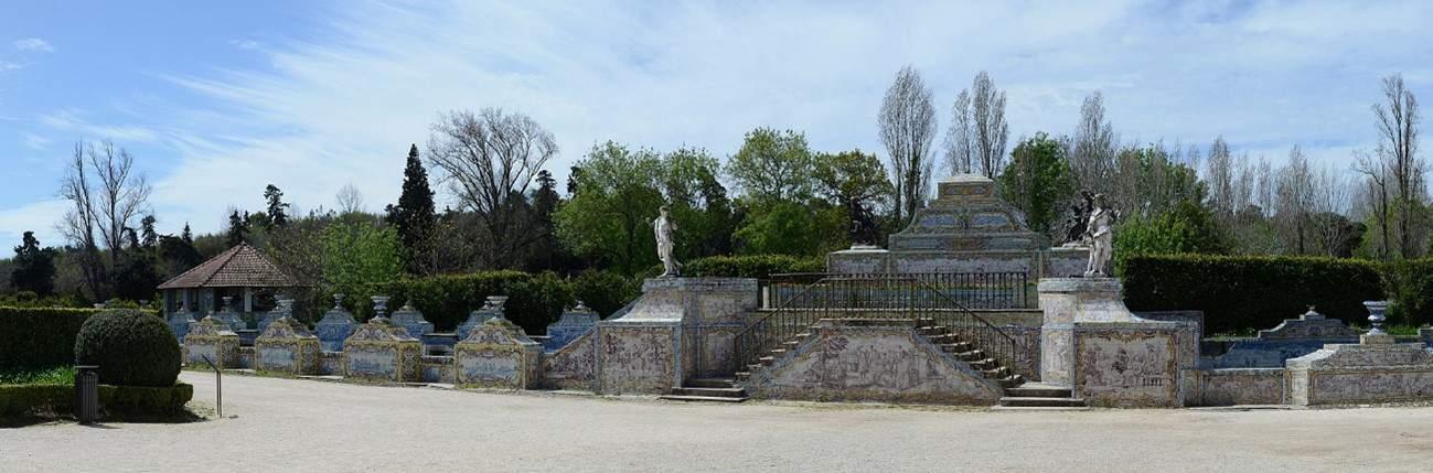 Palácio de Queluz jardins