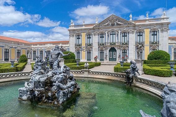 Palácio de Queluz fonte de Neptuno