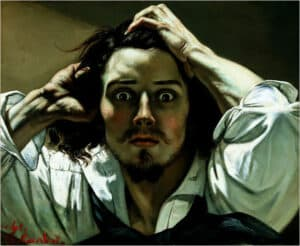 Courbet The Desperate Man (Self-Portrait)