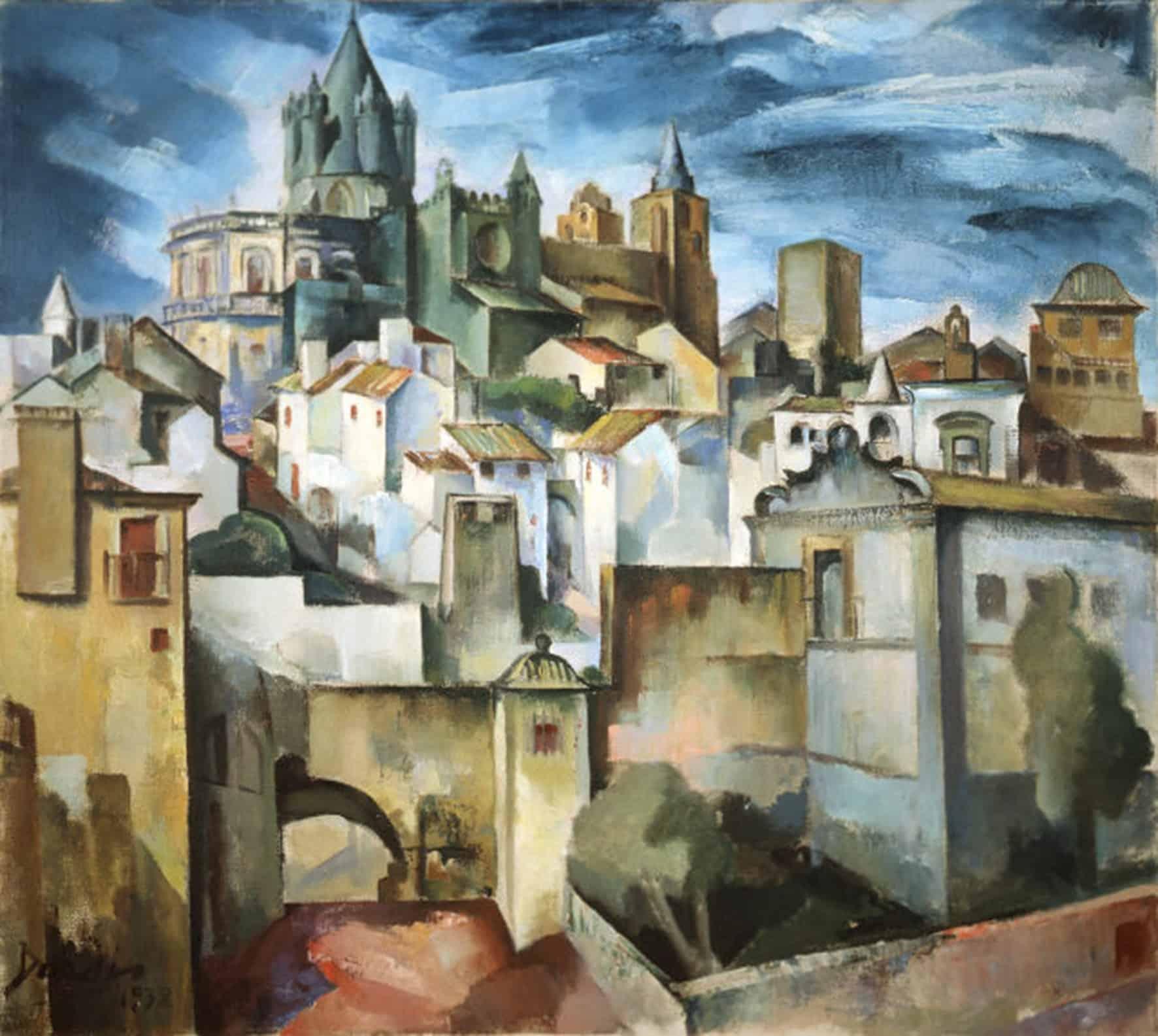 Dordio Gomes Évora, 1938