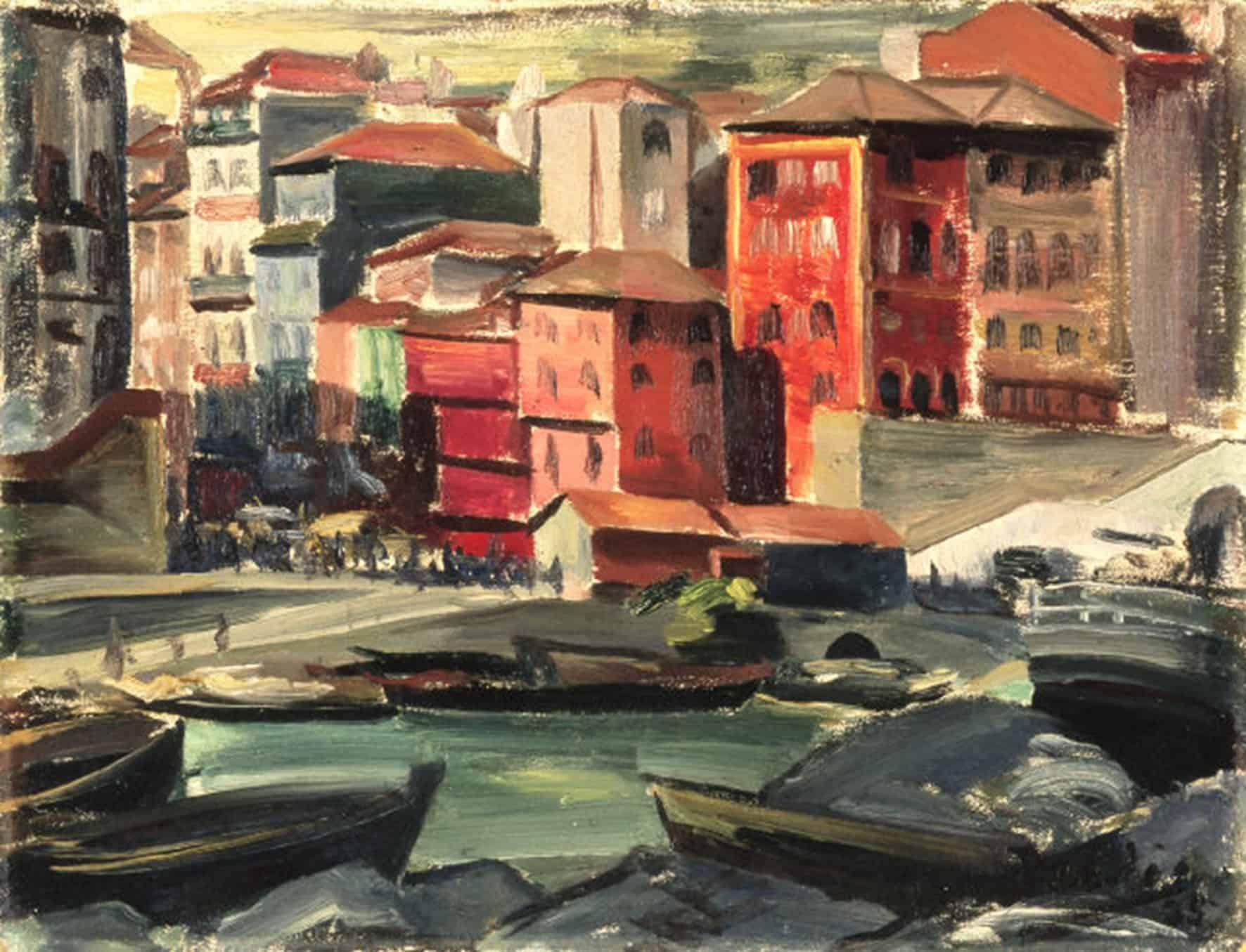 Dordio Gomes Porto – Cais da Ribeira, 1935