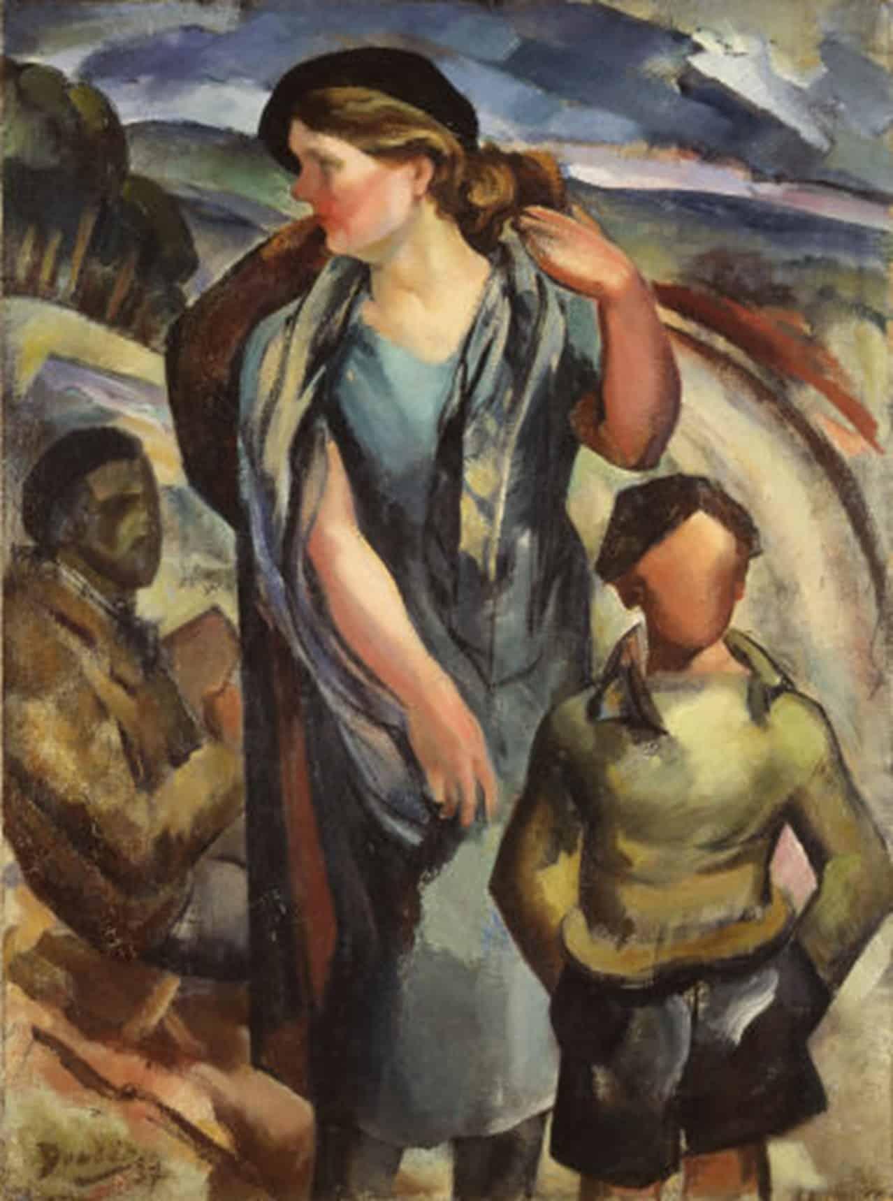 Dordio Gomes A Família, 1937