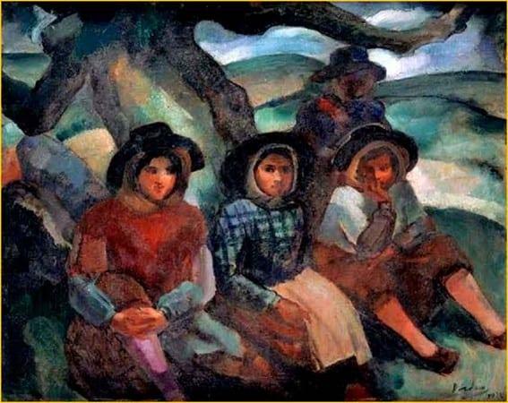 Dordio Gomes Mulheres alentejanas, 1936