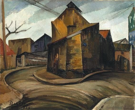 Dordio Gomes As Casas de Malakoff, Paris, 1923