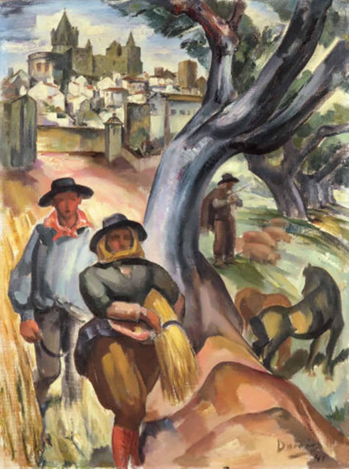 Dordio Gomes Alentejo, 1941