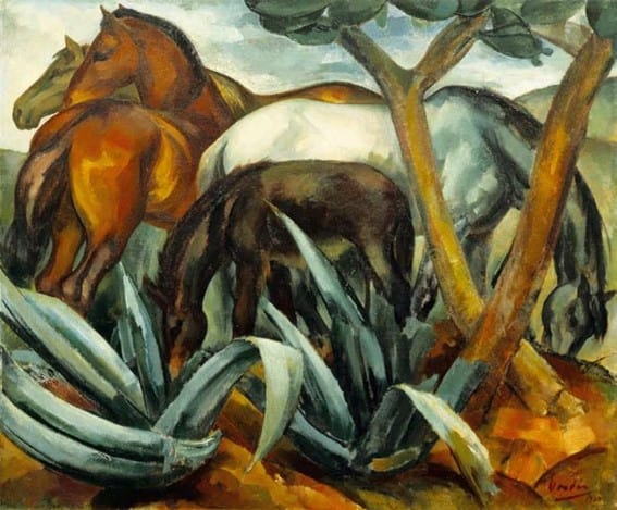 Dordio Gomes Éguas de manada, 1929
