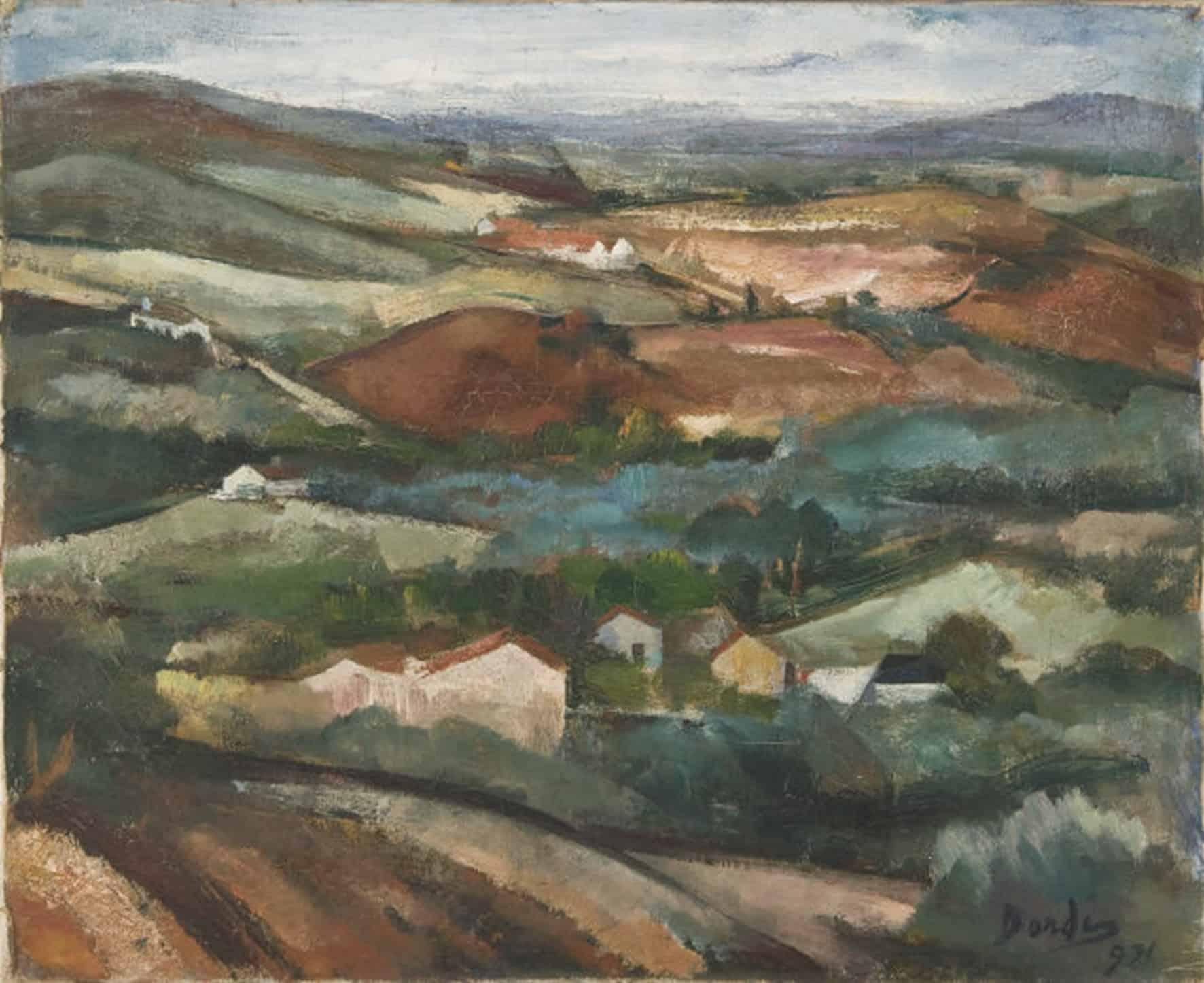 Dordio Gomes Paisagem Alentejana, 1931