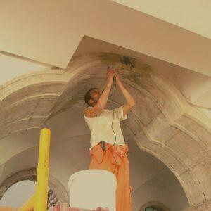 Conservação e restauro de pedra