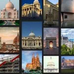 história da arquitetura a partir de 30 monumentos