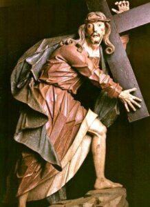Cristo carregando a cruz, de o Aleijadinho