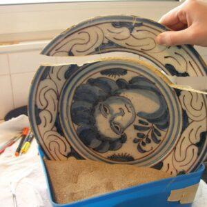 curso de restauro de porcelanas