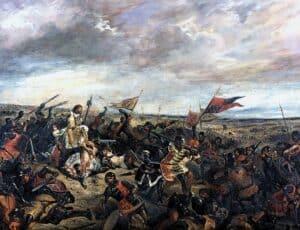 dinastia carolíngia - batalha de Poitiers