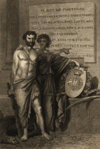 parlamentarismo Alegoria às Cortes de Lamego (1818), Domingos Sequeira (Biblioteca Nacional de Portugal)