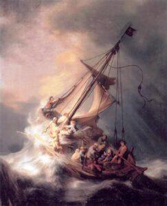 Tempestade no mar da Galileia