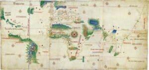 """Mapa dito """"de Cantino"""""""
