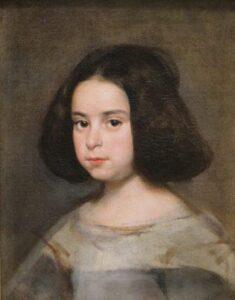 Diego Velazquez retrato de menina
