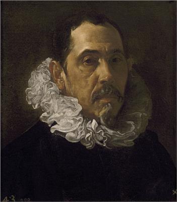 Diego Velazquez retrato de Pacheco