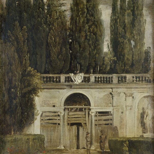 Diego Velazquez, Vila Medici