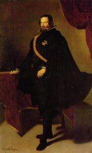 Diego Velazquez retrato do Conde Duque de Olivares