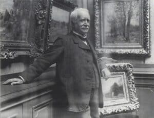 Photograph of Paul Durand Ruel in his gallery, by Dornac, 1910, archives Durand-Ruel © Durand-Ruel & Cie